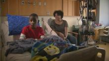 IMAGES: Teen awaits heart transplant at UNC Children's Hospital