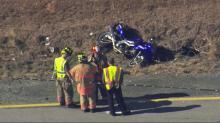 IMAGES: Chase, head-on collision leads to charges against Willow Spring biker