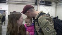 IMAGES: Photos: Paratroopers reunite with families at Fort Bragg