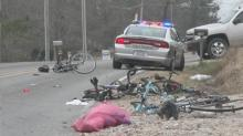 IMAGES: Angier woman charged in Johnston County bicyclist crash