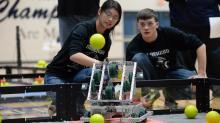IMAGES: Hillside New Tech High School hosts robotics competition