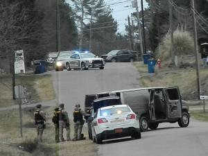 No charges are expected to be filed after a two-and-a-half hour police standoff ended peacefully in Moore County Sunday afternoon.