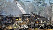 IMAGES: 3 buildings are 'total loss' after Sanford fire