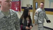 IMAGE: Smithfield-Selma student to become one of first women in Army position