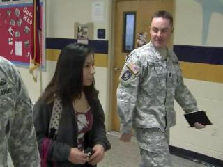 A senior from Smithfield-Selma High School will become one of the first women to be a combat engineer when she ships out to basic training in the summer.