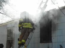 A family dog was rescued from an Aberdeen house fire Wednesday afternoon, according to the Aberdeen Times.