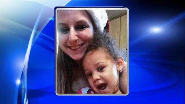 Police said Sarah Kelley, 26, and her 2-year-old daughter Raya Horton left their home on Towhee Drive at about 12:30 a.m. Authorities did not know if they walked or had been picked up from the home.