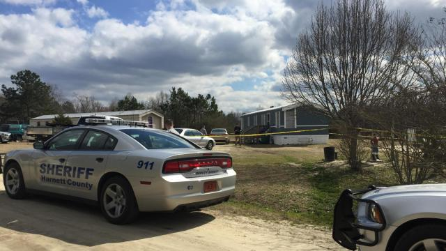 Two people were shot Sunday morning near Fuquay-Varina in Harnett County, authorities said.