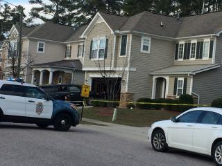Authorities said that police responded to a home on Glade Aster Ct. just before 3:30 p.m., after a mother came home to find her 17-year-old daughter bound with duct tape.