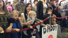 IMAGES: 82nd Airborne paratroopers return home