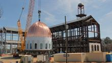 IMAGES: Copper-clad dome caps Raleigh cathedral project