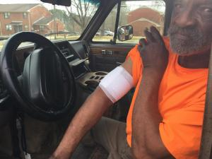 John Burton, 78, was at the McDougald Terrace Housing Complex Wednesday evening working on his nephew's car when someone driving by opened fire.