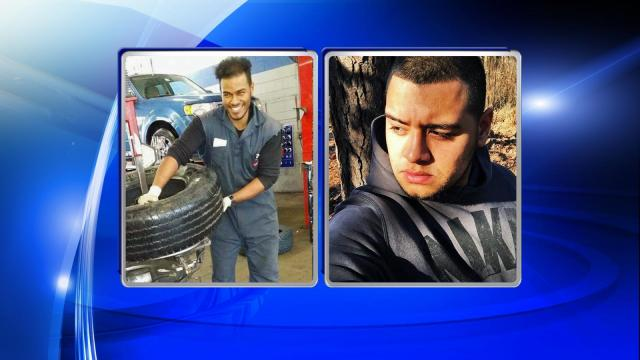 The victims were identified Thursday afternoon as Pedro Joel Reyes Dias, 25, or Raleigh and Allan Uriel Rodriguez, 25, of Wendell.