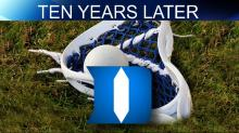 Duke lacrosse 10 year graphic