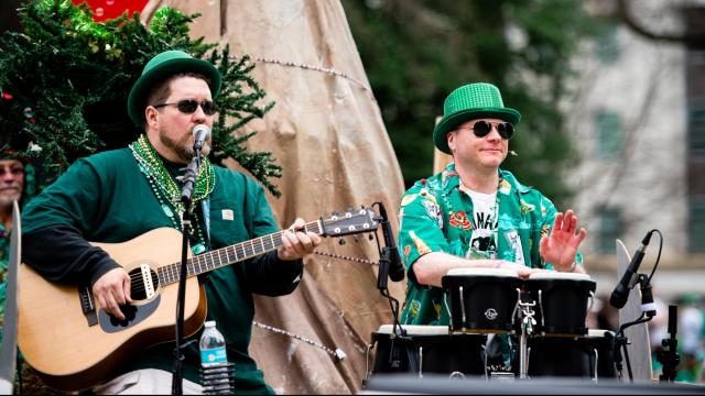 Music of all genres was featured at Raleigh St. Patrick's Day Parade and Festival (Dave Shay / WRAL Contributor)