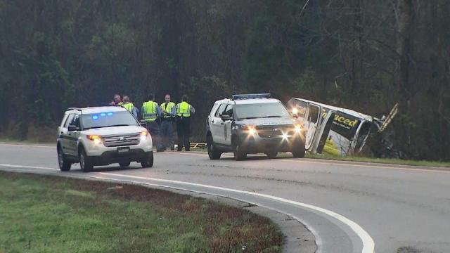 One person died early Monday in a single-vehicle wreck on the ramp from Interstate 40 West to Wade Avenue, Raleigh police said.