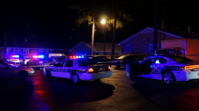 Durham police were investigating a murder early Wednesday morning after a man was shot and killed.