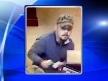 Middlesex police are looking for a man who robbed a bank on Wednesday morning.