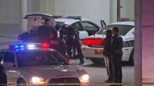 Durham shooting scene