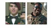 IMAGE: Soldiers, friends: One shot, one charged with murder