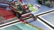 IMAGE: Young Lego builders get national attention