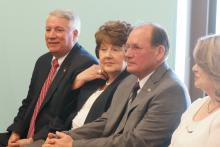 """Former Harnett County Sheriff Larry Rollins told WRAL Tuesday that he decided to resign Monday evening due to """"some personal issues."""" Rollins had served as sheriff since 2002."""