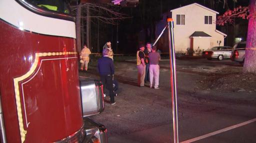 Three Raleigh families were displaced late Thursday night after their apartment building caught fire, officials said.