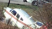 IMAGES: Photos: Plane makes emergency landing on I-540