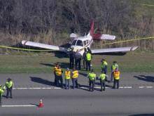 Pilot OK after emergency landing on I-540 in Raleigh