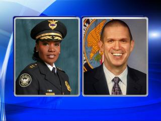 Deputy Chief Cerelyn J. Davis, who serves over the Strategy and Special Projects division of the City of Atlanta Police Department, and Major Michael J. Smathers, who oversees the Field Services Group of the Charlotte-Mecklenburg Police Department, are the contenders to replace former Police Chief Jose Lopez Sr.