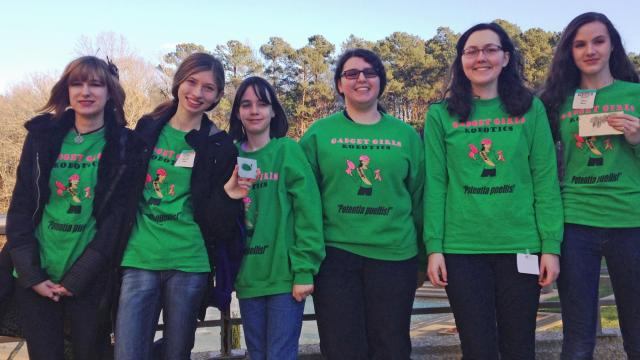 The Gadget Girls, an all-girl robotics team, is on its way to Campbell University this weekend in hopes of qualifying to the NC State FIRST Robotics competition.