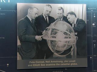 Morehead Planetarium, on the campus of the North Carolina at Chapel Hill, trained 62 astronauts to navigate using the stars during the early days of the space program from 1960 to 1975.