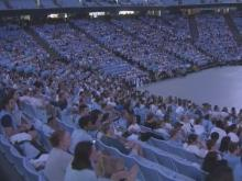 UNC fans gather at Dean Dome for Final Four