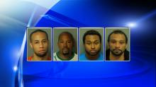 From left: Kasey Randleman, Ernest Yarborough, Meredith Cromartie, Jr. and Joshua Antwon Davis were all arrested by Joseph Michael Conover within the past year.