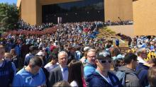 UNC fans welcome Tar Heels back to Chapel Hill
