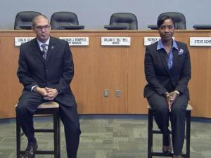 Michael Smathers and Cerelyn Davis are the two finalists to be Durham's next police chief.
