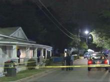 Police are investigating after a person was shot and stabbed at a Raleigh home Thursday night.