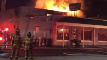 Haymont Grill fire