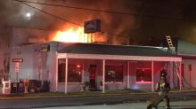 IMAGES: Fayetteville loses community restaurant to weekend fire