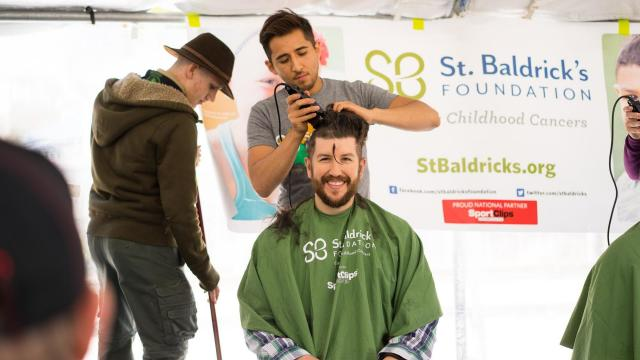 St. Baldrick's Foundation raises money with Raleigh head-shaving event