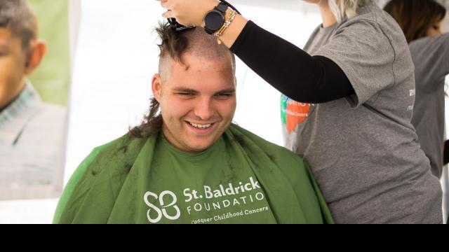 Volunteers from Starbucks participating at St. Baldrick's. Photos by: Carlton Bassett