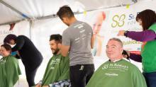 IMAGES: 2016: St. Baldrick's Foundation raises money with Raleigh head-shaving event