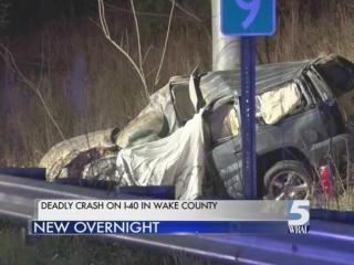 A driver is dead and two passengers were injured in a single-vehicle wreck that occured early Sunday morning.