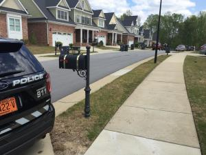 Police were investigating the deaths of two people at a home on Old Grove Lane in Apex Monday afternoon, authorities said.