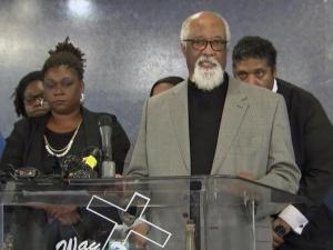 The family of a man shot and killed in February by a Raleigh police officer said on Saturday they filed a request with the U.S. Department of Justice to review the case as a civil rights violation.
