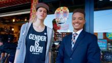 IMAGES: Gender-neutral model, transgender man speak out against HB2; call for full repeal