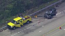 DOT workers injured in I-440 crash