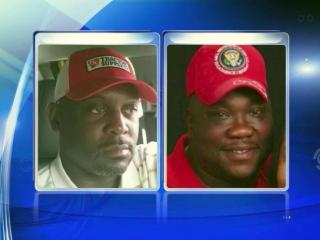 NCDOT workers Kelly Lewis, left, and Darrick Bridges were injured on April 19, 2016, when a car hit them and their parked truck on the shoulder of Interstate 440 in Raleigh.