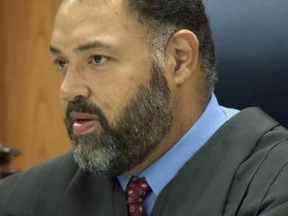 A Cumberland County judge sentenced the veteran, Joseph Serna, to spend one night in jail for a probation violation, but the former soldier was shocked when the judge served the time with him.