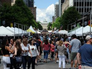 Visitors enjoyed food trucks, local beer and crafts at Brewgaloo 2016, which took place in Raleigh on Saturday, April 23, 2016.
